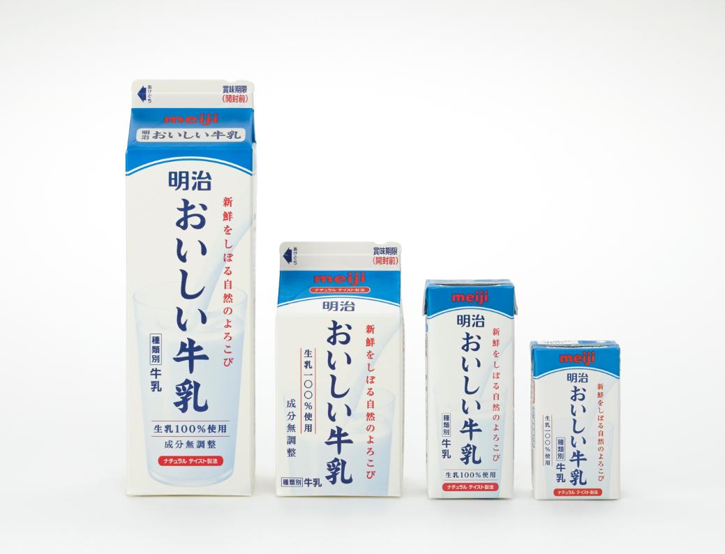 而佐藤卓为明治乳业设计的牛奶包装,就是这类gable top牛奶盒中的优秀图片