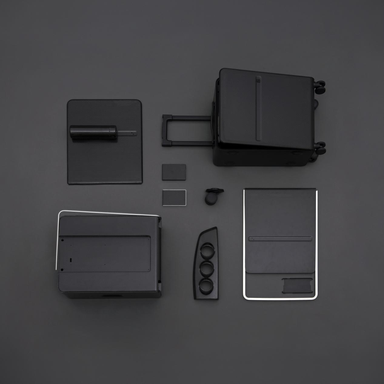 杨明洁设计作品_01:羊舍碳纤维智能旅行箱,2015年,获德国 iF、日本 Good Design 设计奖 (2)